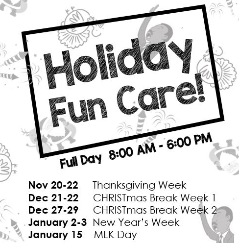 Extended Day Holiday Care